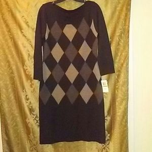 Connected Apparel Sweater Dress